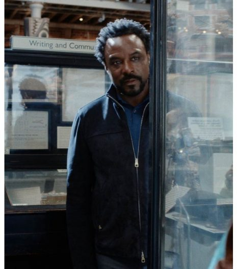 His Dark Materials S02 Carlo Boreal leather Jacket