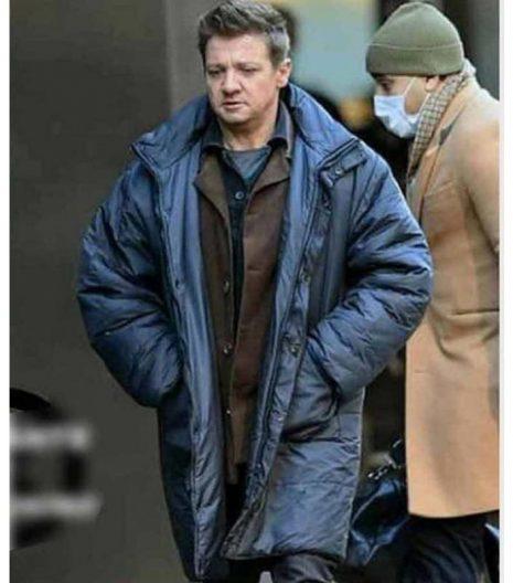 Clint Barton Hawkeye Jeremy Renner Puffer Coat