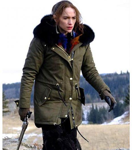 Melanie Scrofano Wynonna Earp S04 Parka Coat