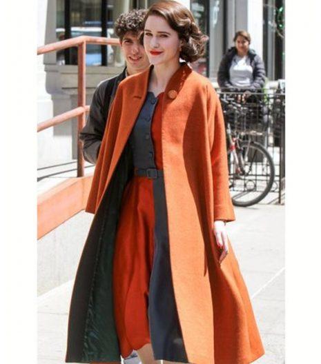 The Marvelous Mrs Maisel Rachel Brosnahan Coat