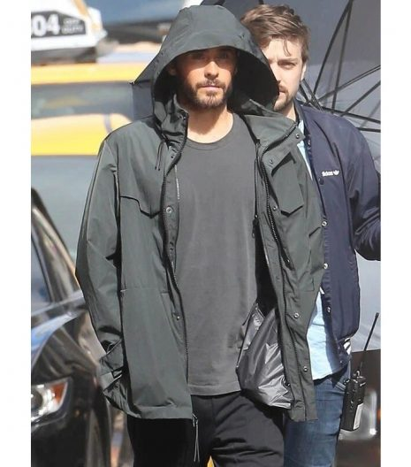 Jared Leto Morbius Hooded Grey Jacket