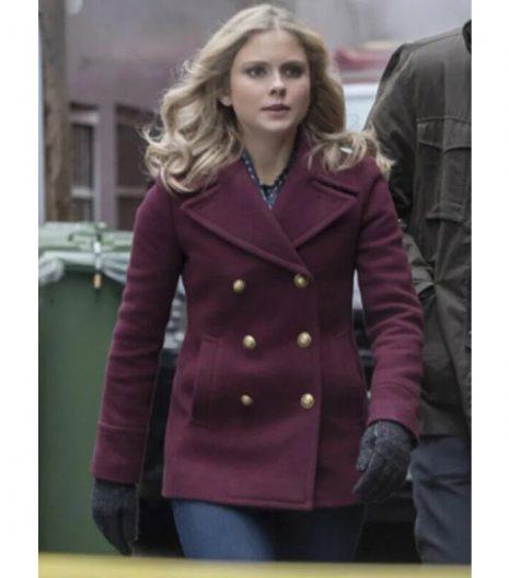 Izombie Rose Mciver Pea Coat