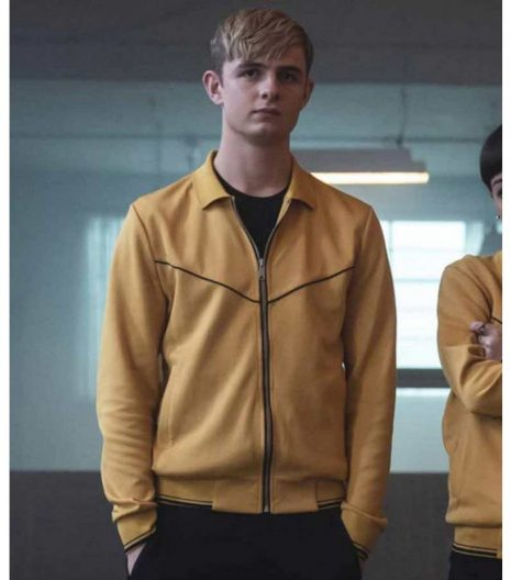 Alex Rider Otto Farrant Yellow Jacket