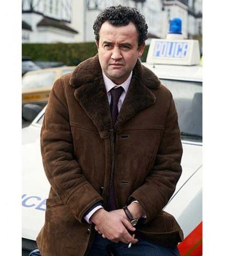 Des Daniel Mays Leather Coat