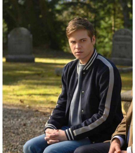 Supernatural Season15 Alexander Calvert Varsity Jacket
