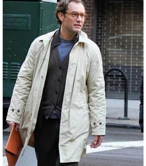 A Rainy Day In New York Jude Law Coat