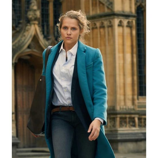 Teresa-Palmer-A-Discovery-of-Witches-Diana-Bishop-Blue-Coat-800×800