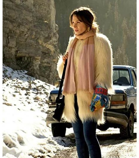 Wynonna Earp S04 Waverly Earp Faux Fur Coat