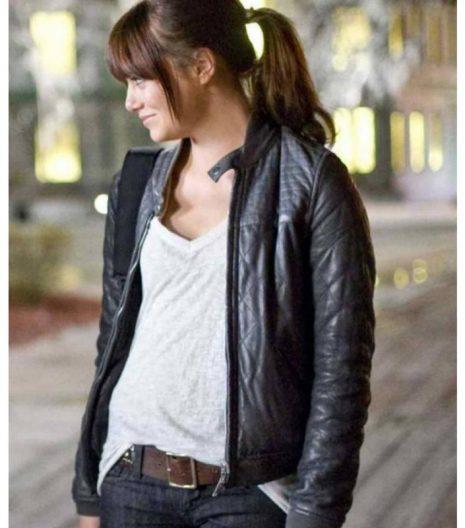 Emma Stone Zombieland Wichita Leather Jacket