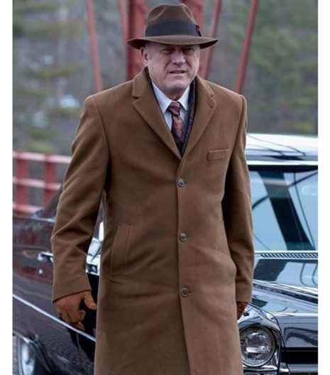 Gotham Carmine Falcone Brown Trench Coat