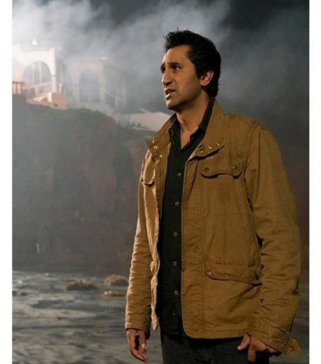 Cliff Curtis Fear The Walking Dead Cotton Jacket