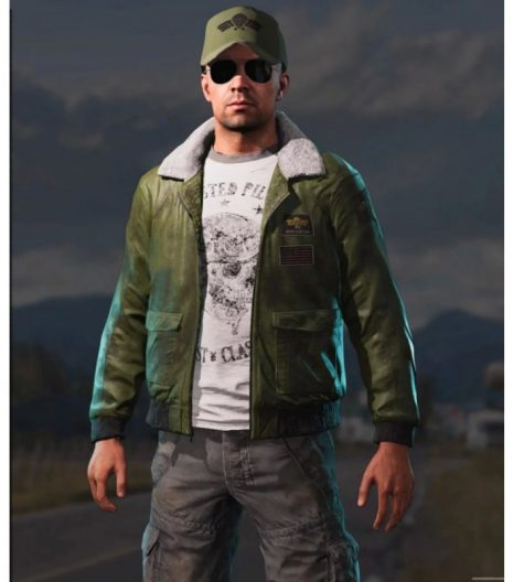 Far Cry 5 Mayday Leather Jacket